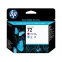HP-72  Magenta and Cyan Printhead
