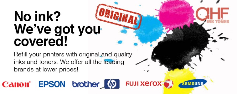 Original Ink at AHF Ink Toner Online Shop
