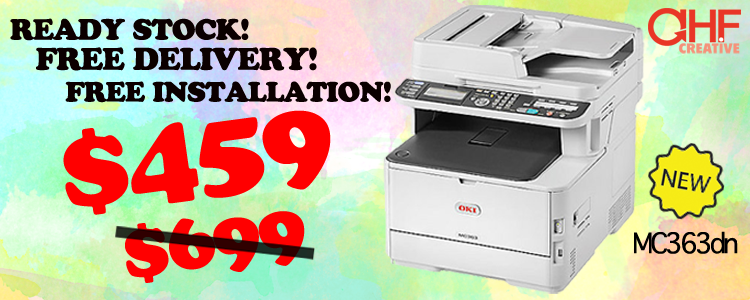OKI MC363dn Printer