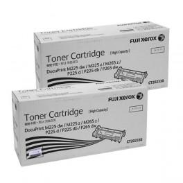 Fuji Xerox CT202330 High Capacity Toner Cartridge x2