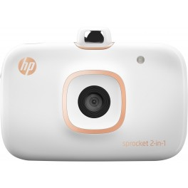 HP Sprocket 2-in-1 Printer (White)