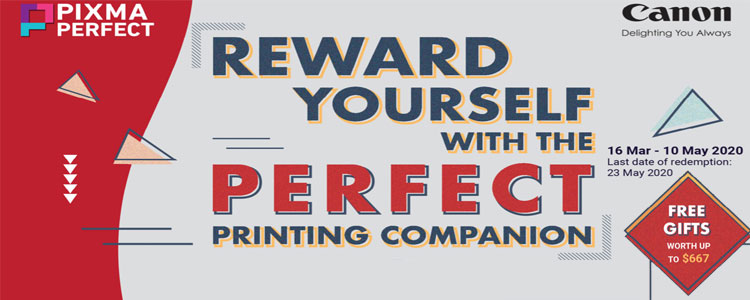 Reward Yourself with the Perfect Printing Companion - Canon