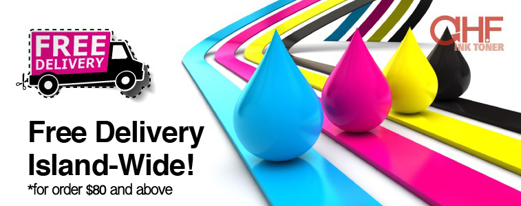Free Delivery for Ink Toner order at AHF Ink Toner