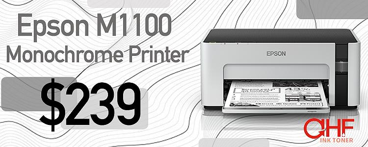 Epson M1100 Printer at AHF Ink Toner